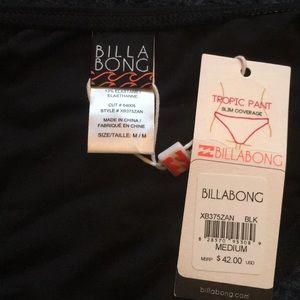Billabong Swim - Billabong cheeky black beaded tie bikini bottoms